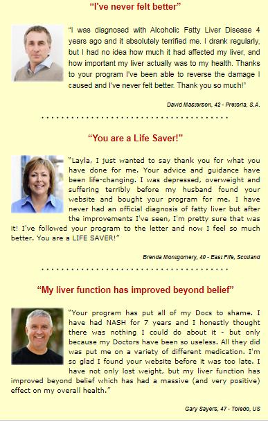 Fatty Liver Remedy customer Reviews