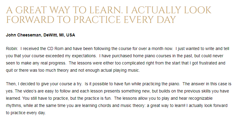 Piano For All customer Reviews