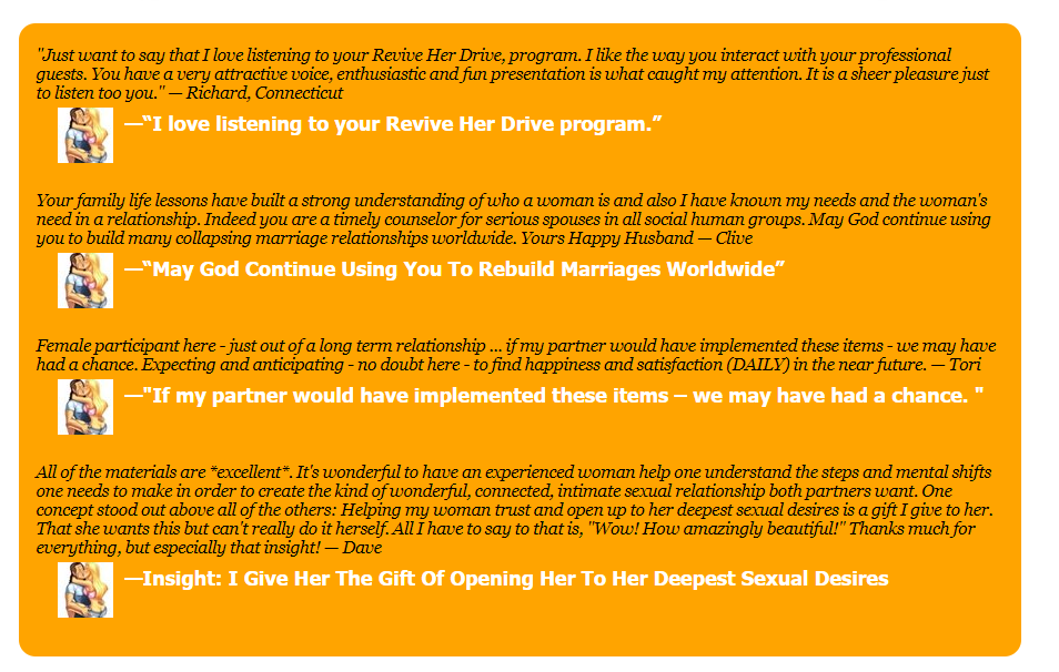 Revive Her Drive reviews