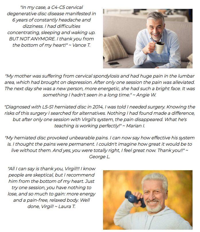 Back Pain SOS Customer Review
