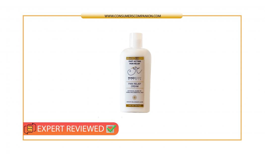 Mind Body Matrix Pain Cream review