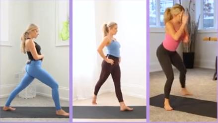 yoga burn booty challenge schedule