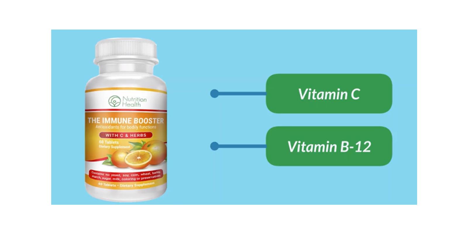 Nutrition Health Immune Booster supplement