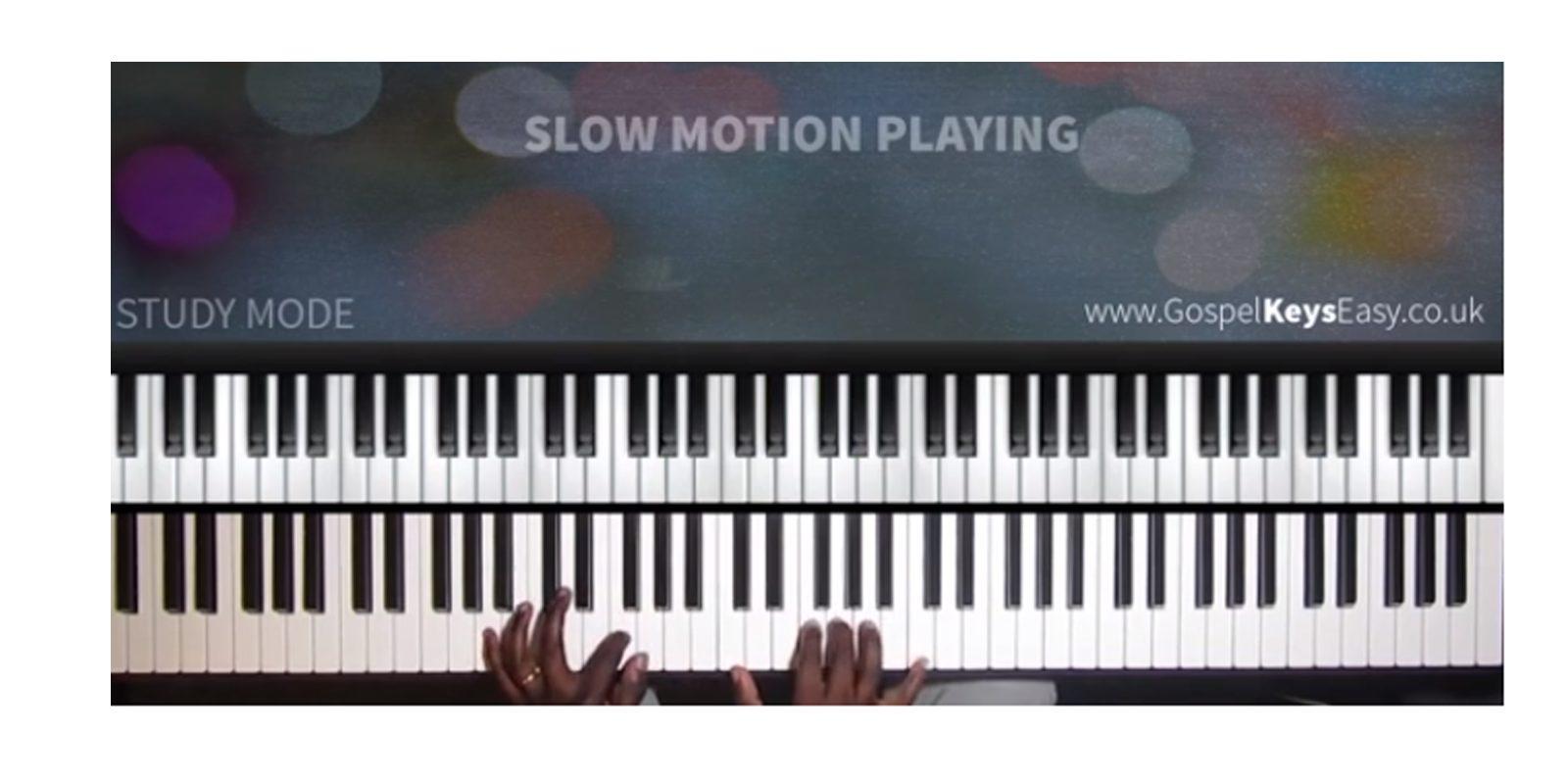 gospel piano training