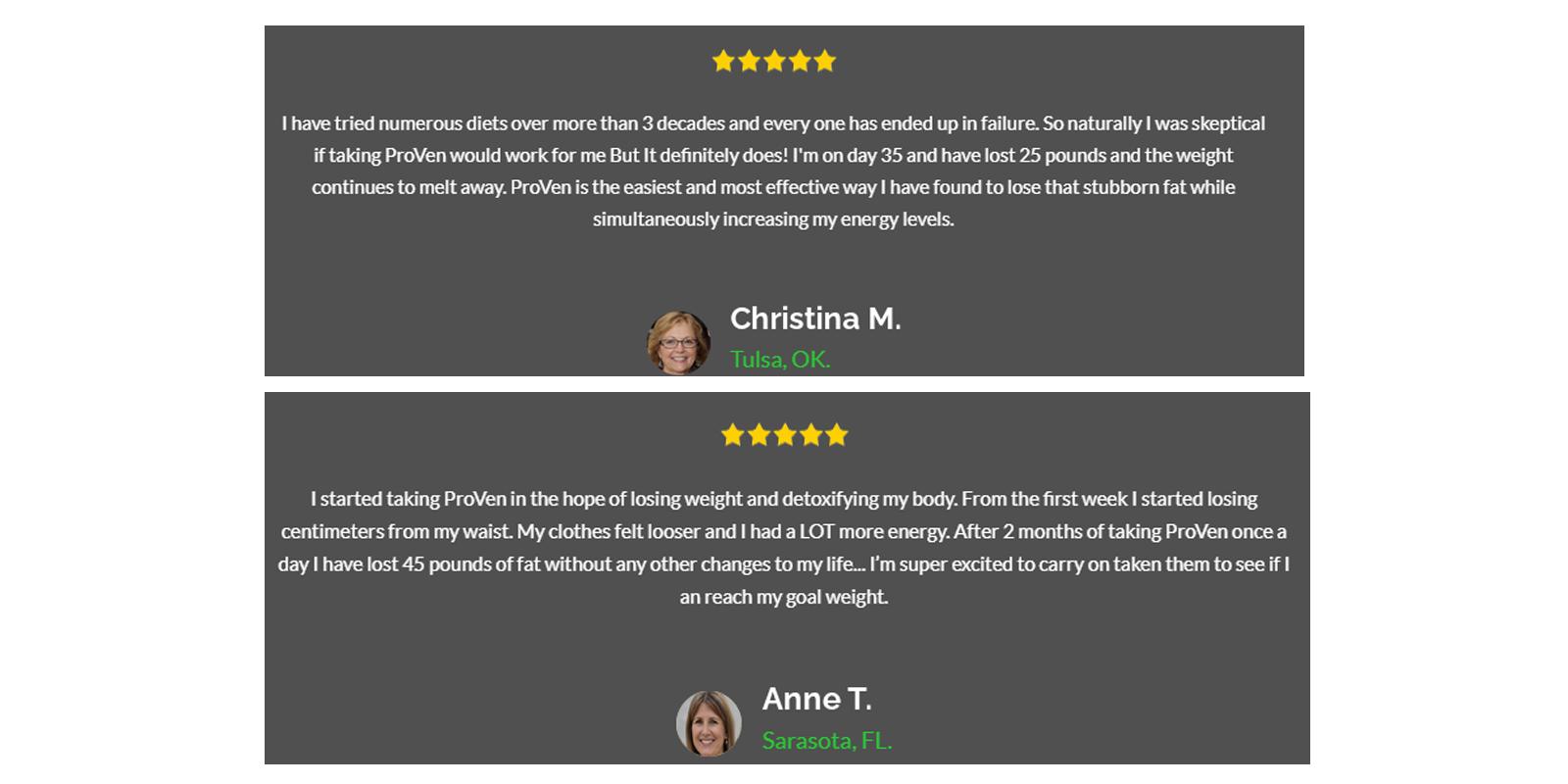 Proven Plus customer reviews