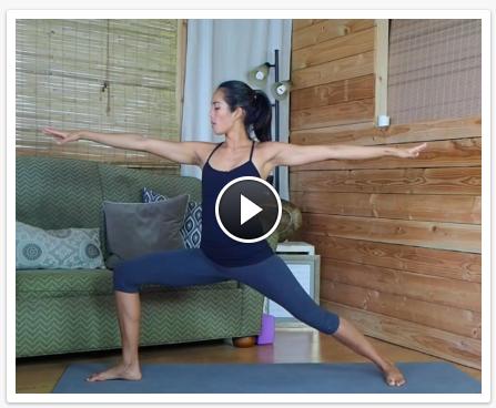 Yoga posture videos