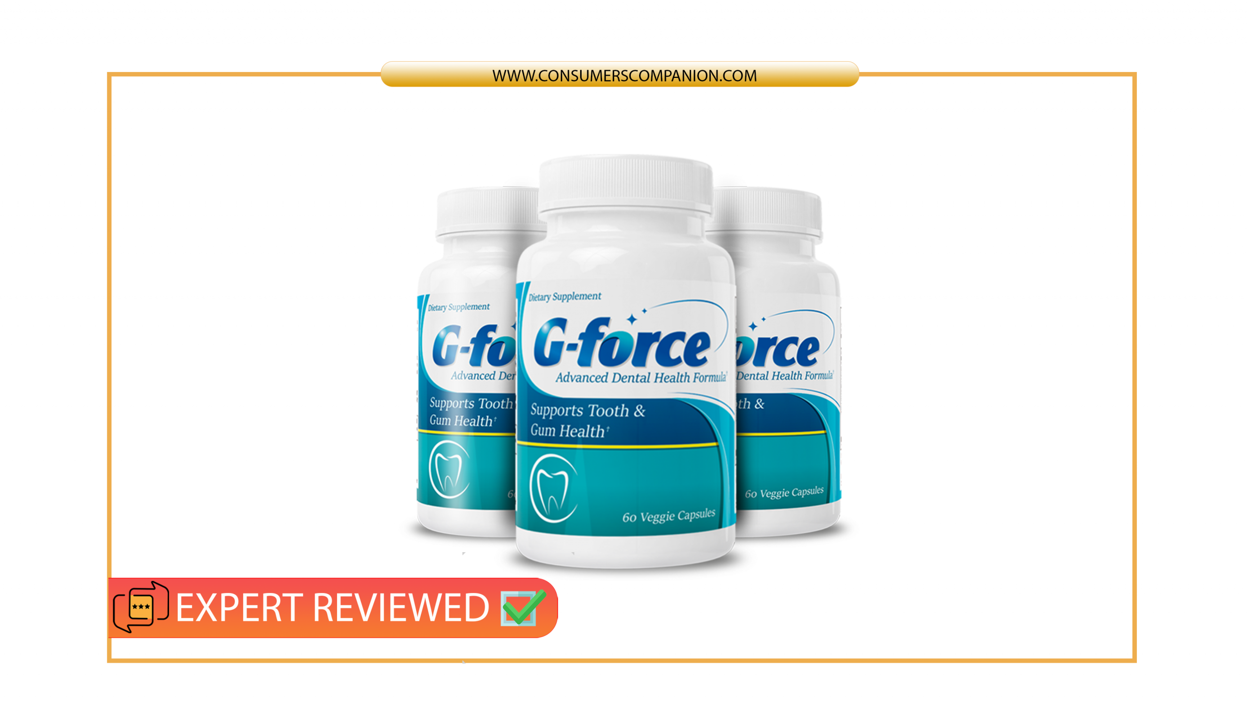 G-Force dental health supplement reviews