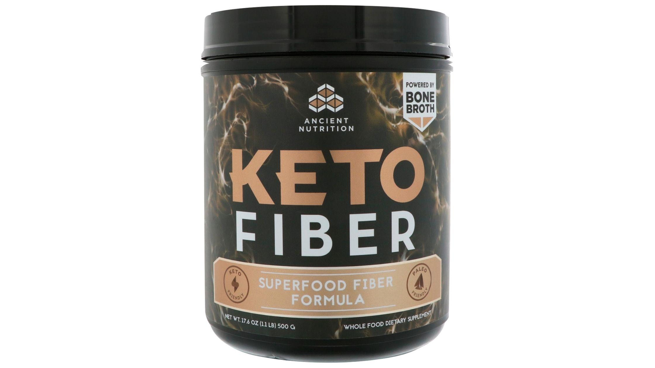 KetoFIBER powder by Ancient Nutrition