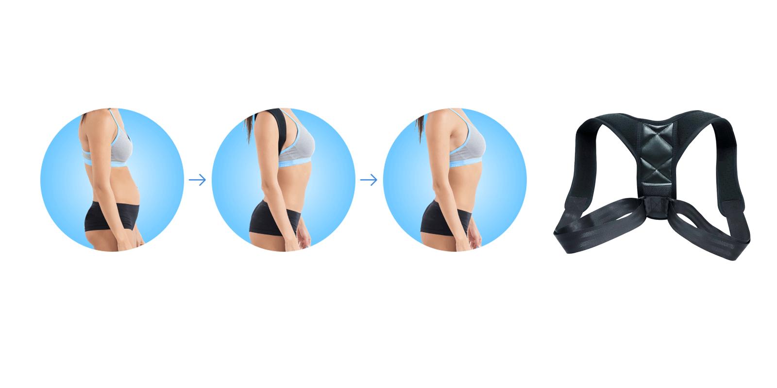 Renuback Relief for strighter posture