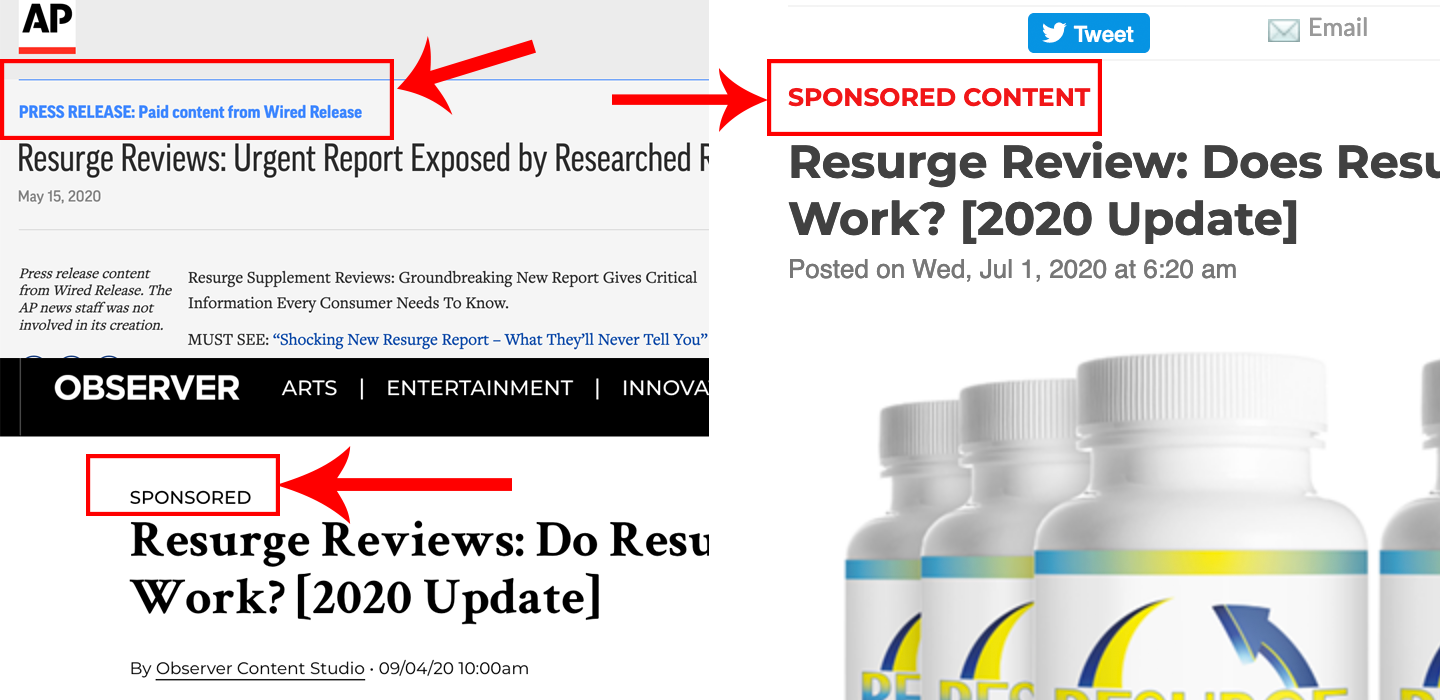 Resurge review by consumerscompanion