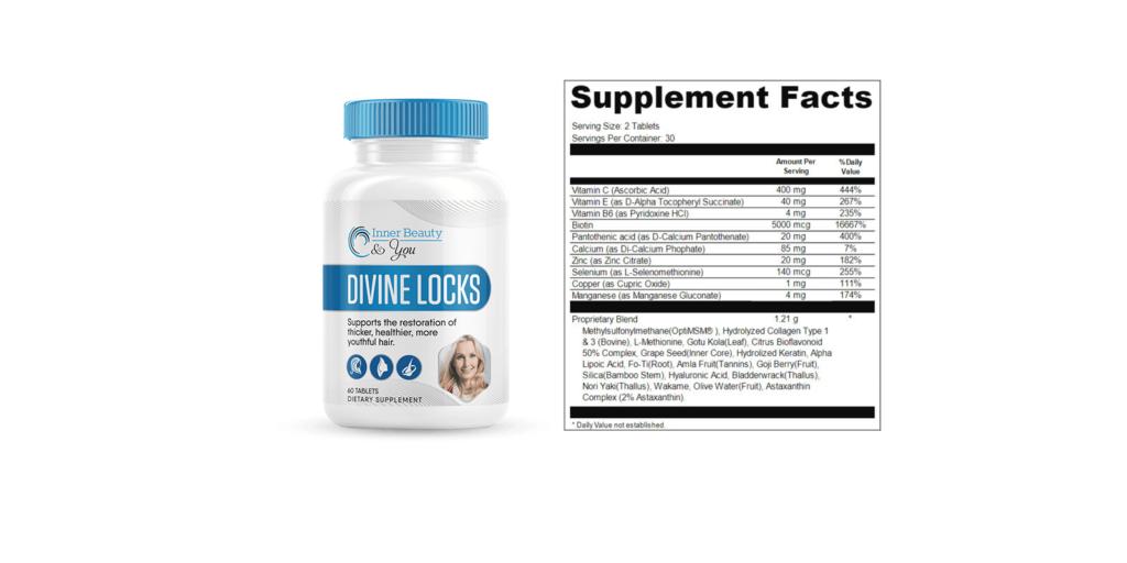 Divine Locks supplement-dosage