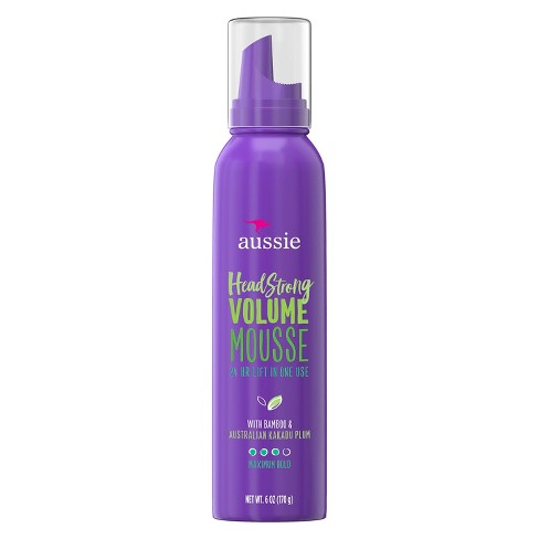 Aussie Headstrong Volume mousse