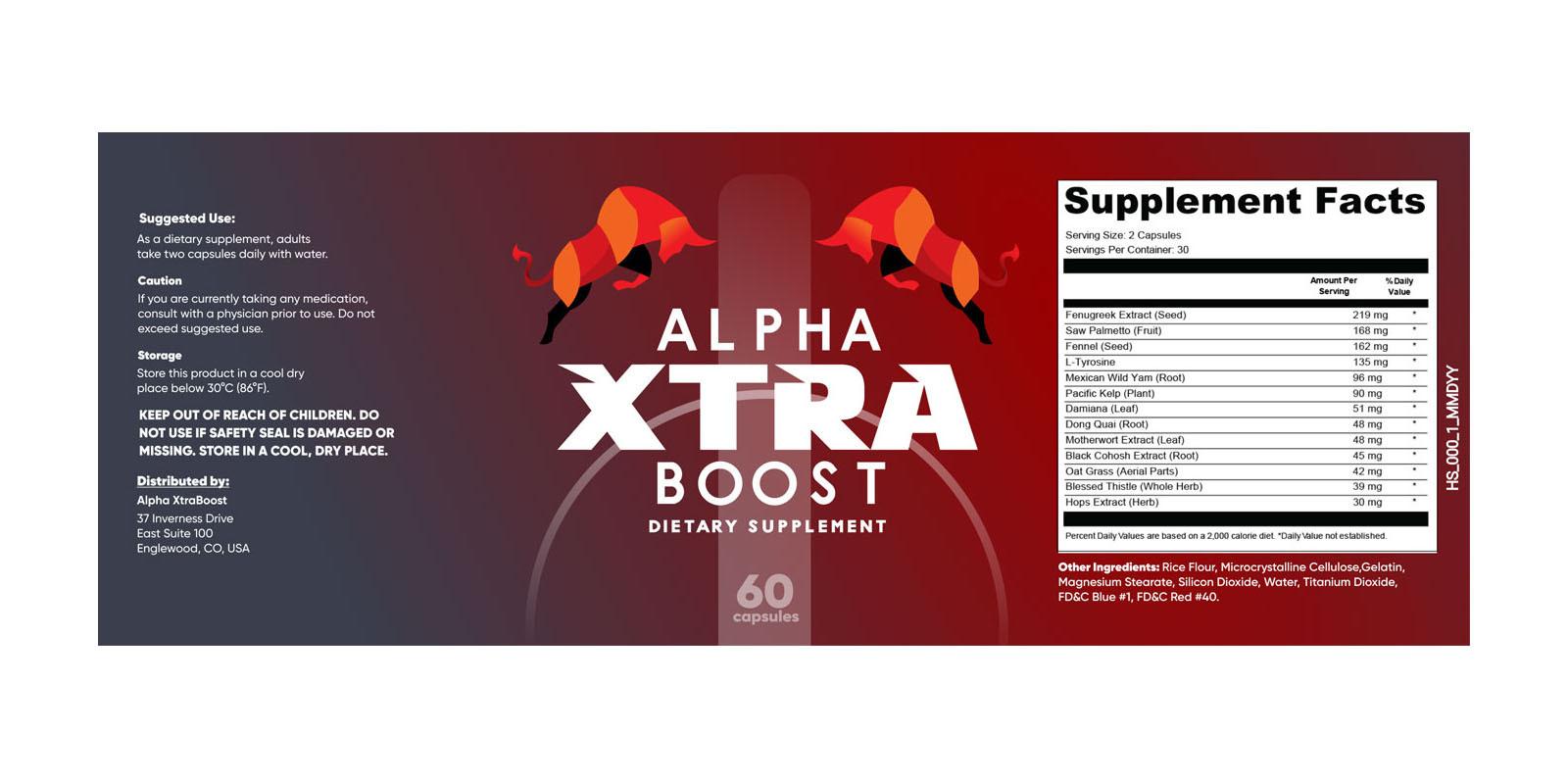 Alpha Xtra Boost Dosage