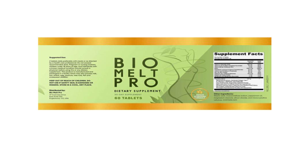 Bio Melt Pro dosage