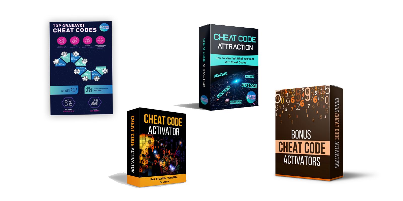 Cheat Code Attraction bonuses