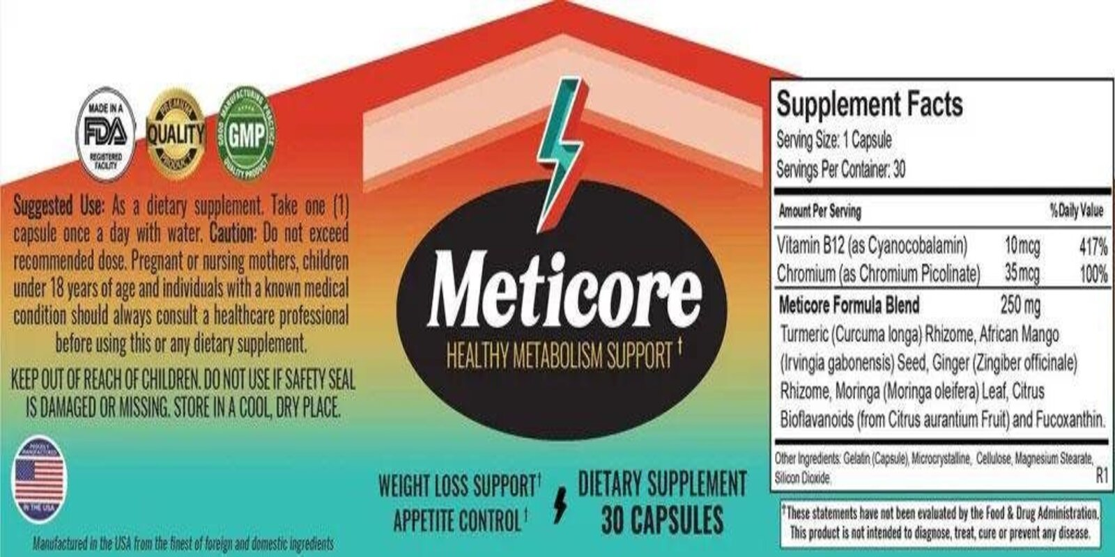 Meticore Review Dosage