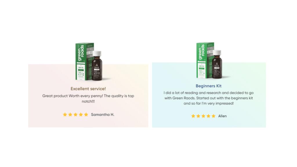 Green Roads CBD Customer Reviews