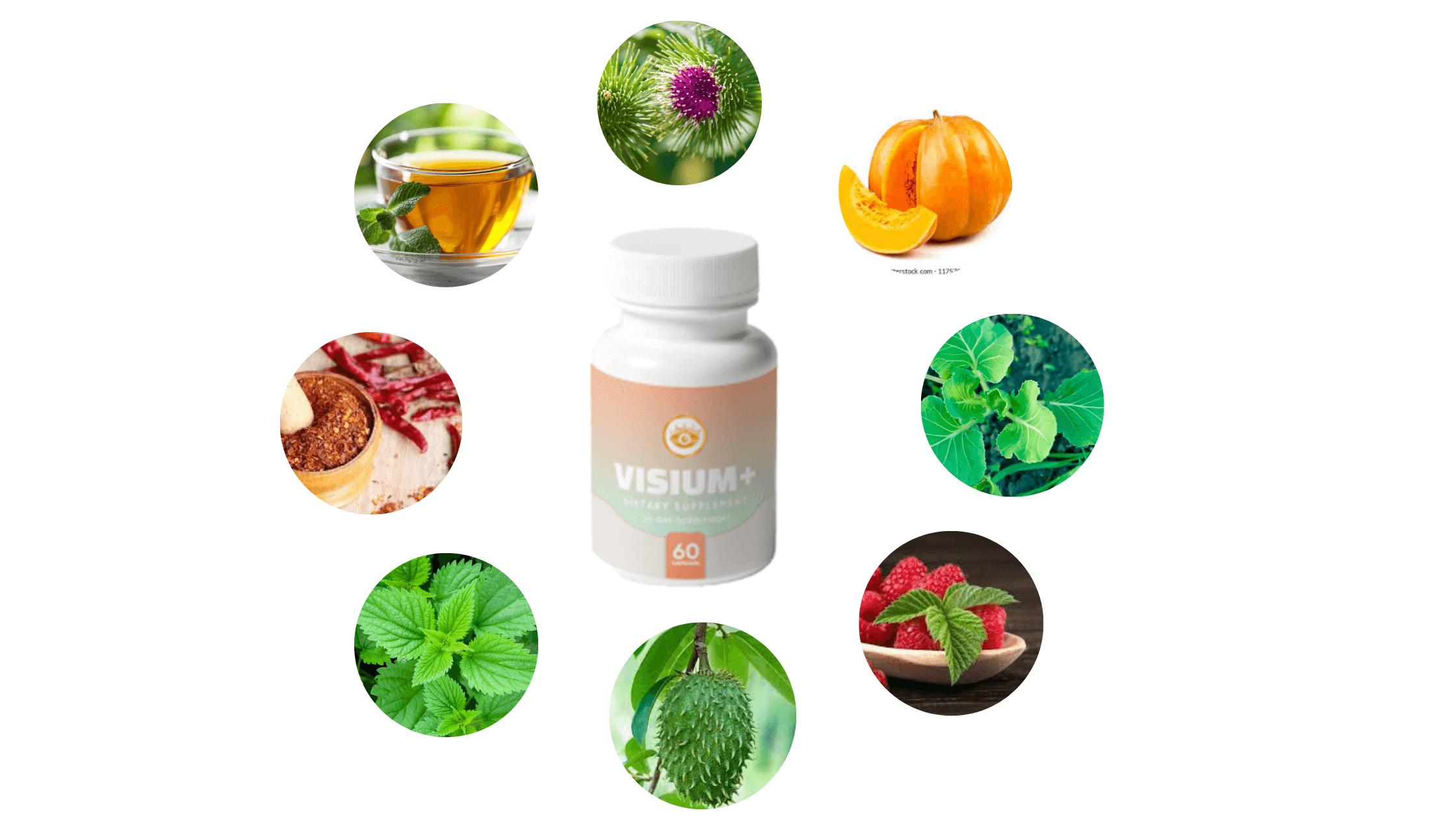 Visium Plus Suppelemnt Ingredients