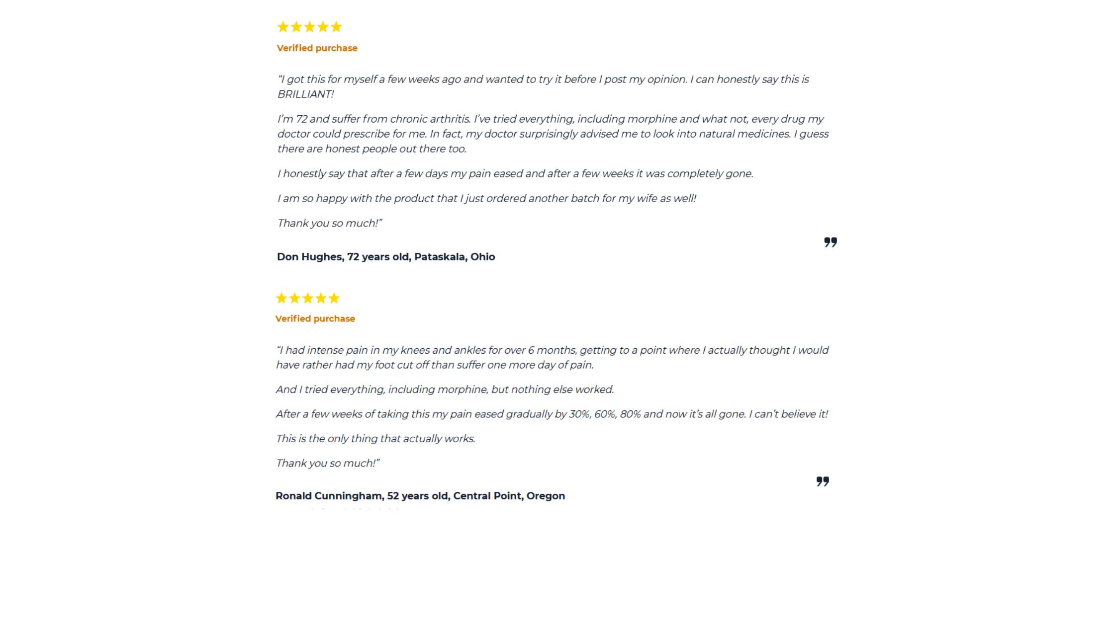 Flexotone Dietary Supplement Customer Reviews