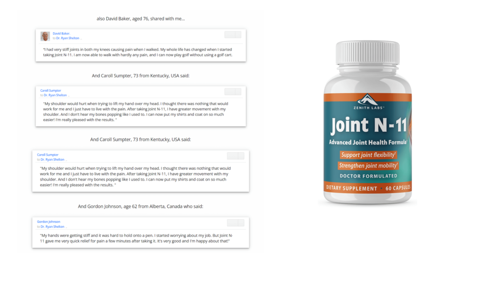 Joint N-11 Customer Reviews