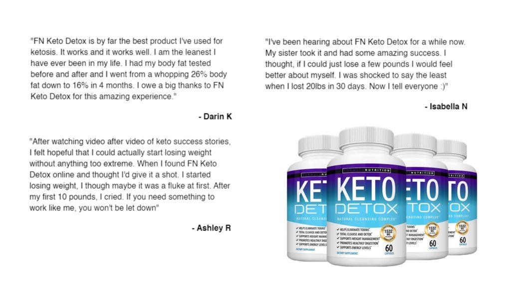 Keto Detox customer reviews
